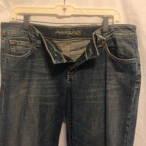 American Eagle Jeans Faded & Flare